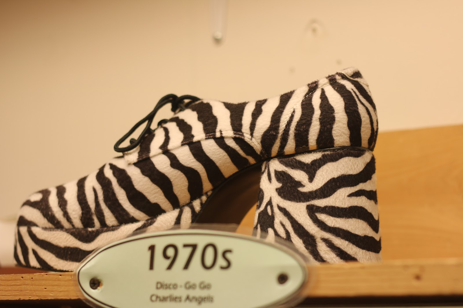 Zebra Platform Shoes
