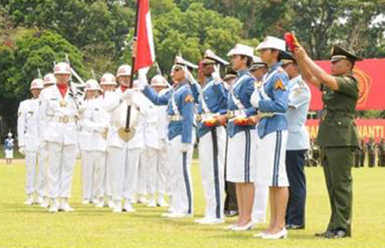 Penerimaan Calon Taruna/Taruni Akmil TNI AD 2017
