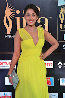 Madhu Shalini Looks Super Cute in Neon Green Deep Neck Dress at IIFA Utsavam Awards 2017  Day 2  Exclusive (19).JPG