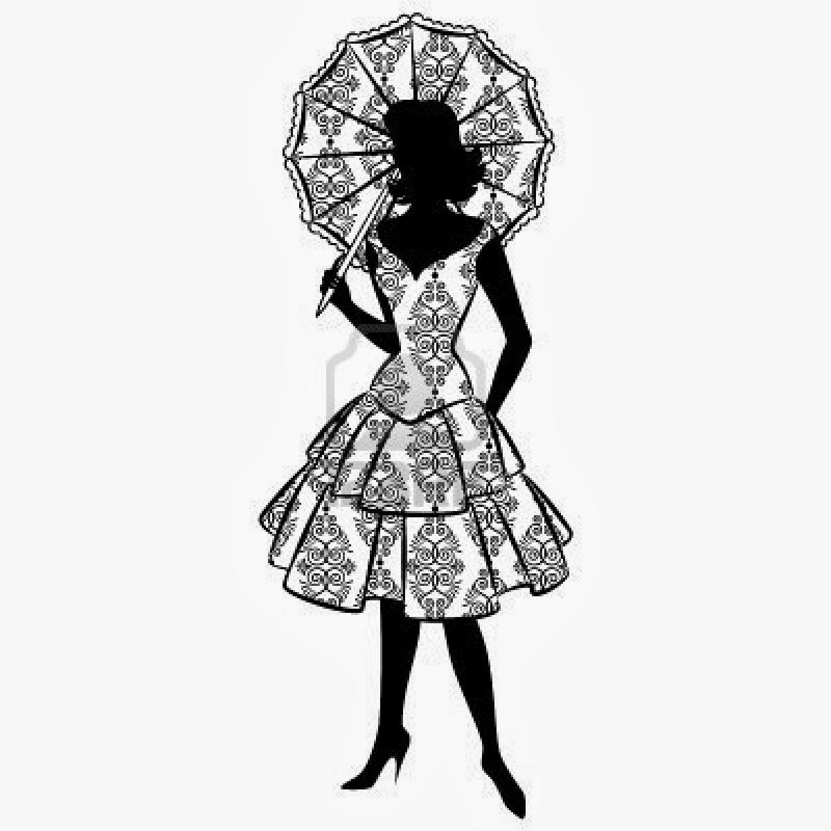 Fantasy Girl Silhouettes