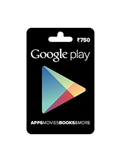 Now Buy Google Play Gift Cards from Amazon with Free Shipping