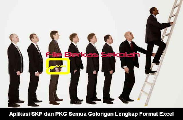 Download Aplikasi SKP dan PKG Semua Golongan Lengkap Format Excel