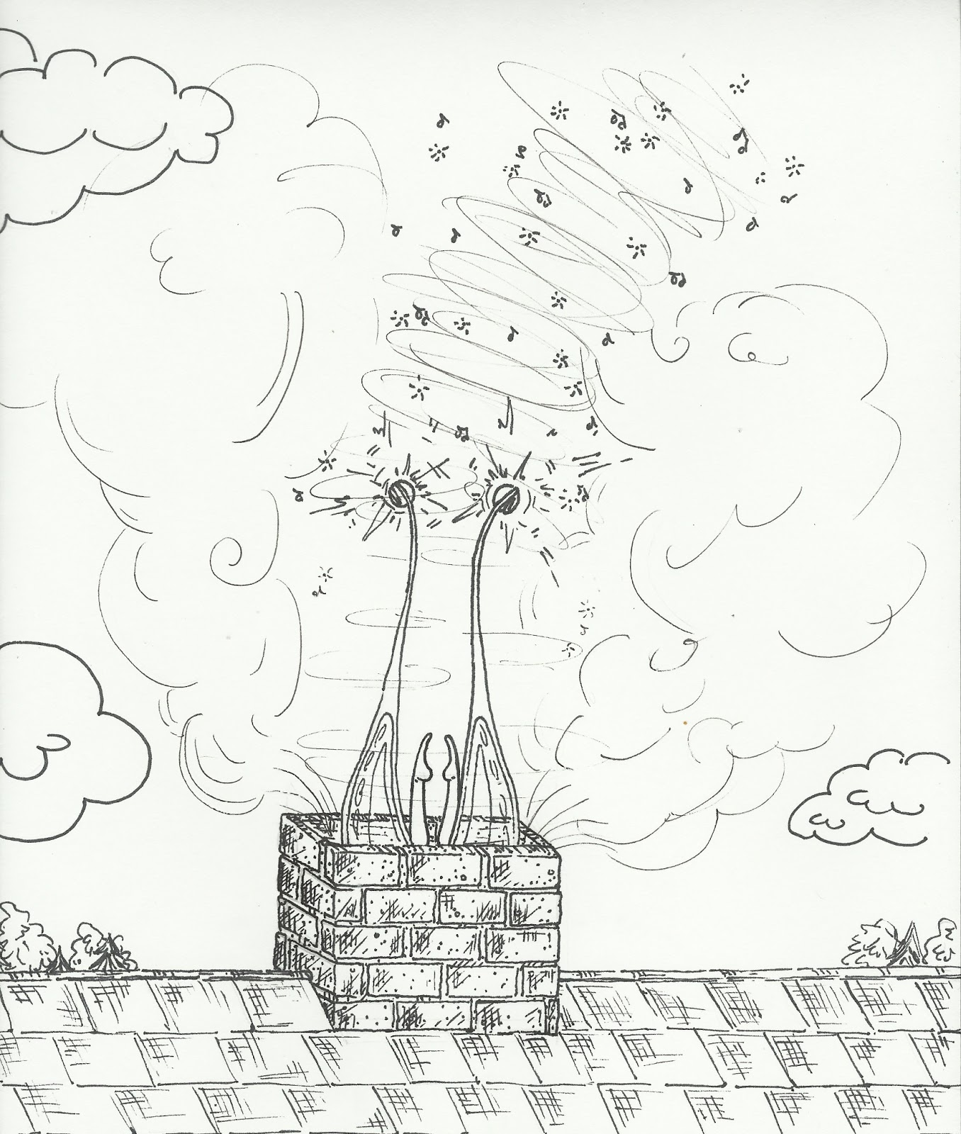 jaclyn bishop, an art blog: Ink Illustrations & Upcoming Shows