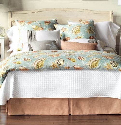 Luxury Coastal Bedding from Eastern Accents