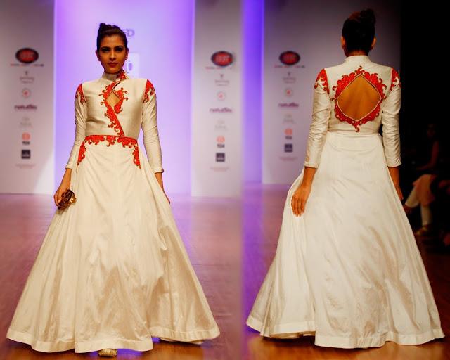 White Gown Designer Isha Gupta Tayal-