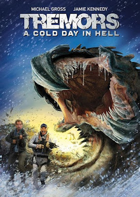 Tremors A Cold Day In Hell 2018 DVD R1 NTSC Latino