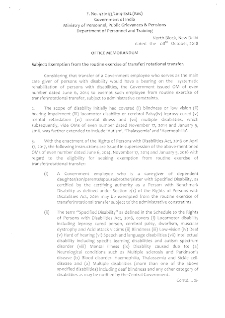 exemption-from-routine-exercise-of-transfer-page-1