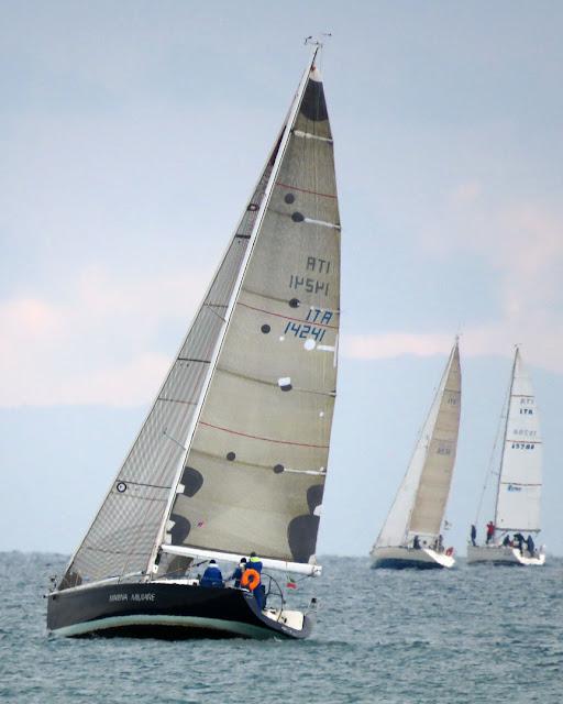 Sailboat Antares , Italian Navy, Livorno