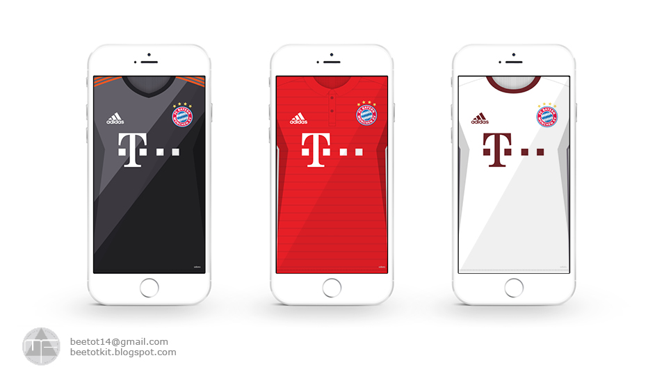 16 Luxury Pubg Wallpaper Iphone 6: Beetot Kit: Bayern Munich Kit 16/17 Iphone 6 Wallpaper