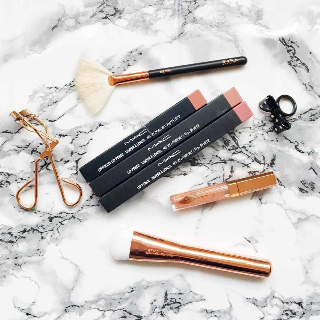 MAC Boldly Bare Lip Pencil, MAC Fresh Clay Liptensity Lip Pencil, MAC Soar Lip Pencil Swatches NC20 - NC30