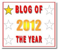 Blog of the Year, 2012