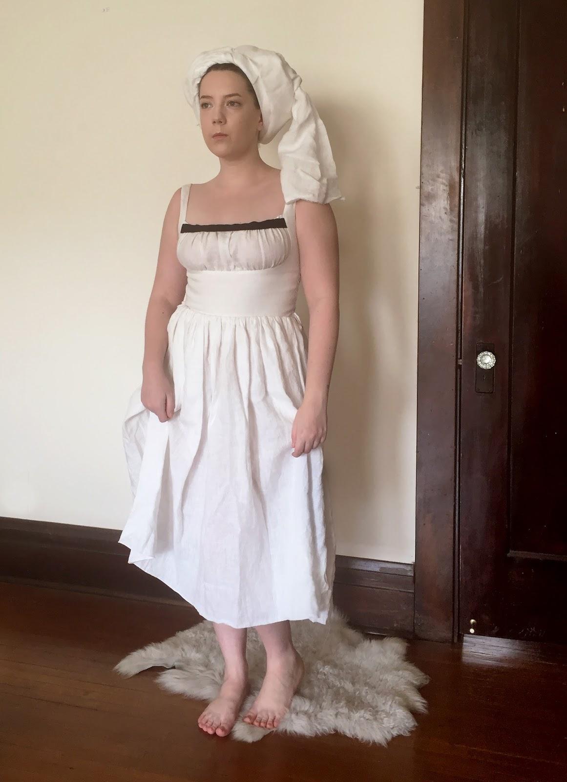 Gwendolyn Grey: 15th / 16th cen. German sleeveless chemise- Finished!