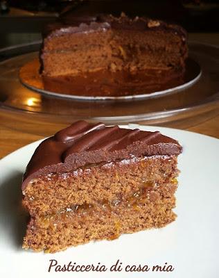 ricetta sacher torte di pasticceria di casa mia