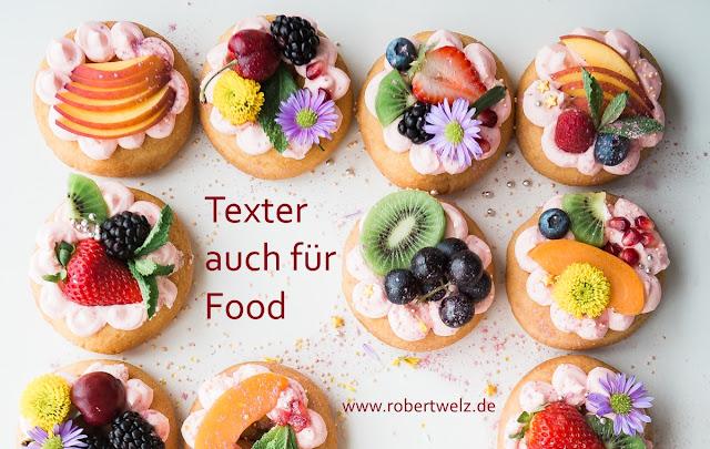 Lebensmittel, Food, Texter, Werbung, Hersteller, Handel, Gastronomie, Anzeigen, Flyer, Webseiten