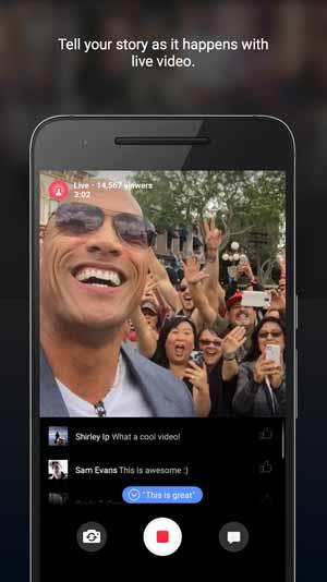 تحميل تطبيق الفيس منشن facebook
