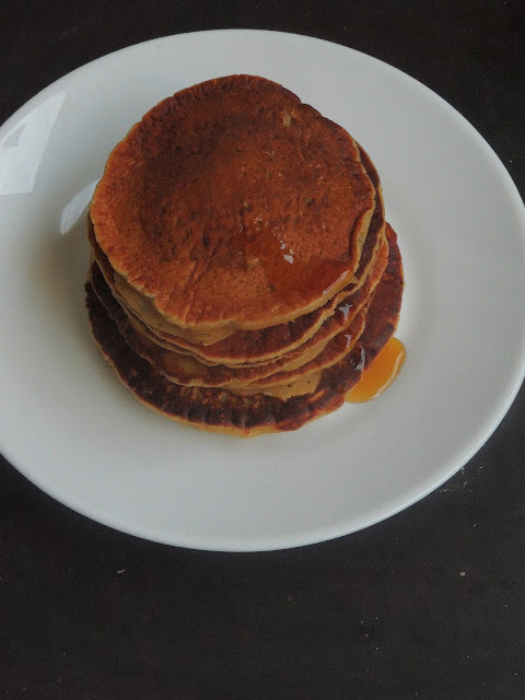 Whole wheat, Chia seeds pancakes
