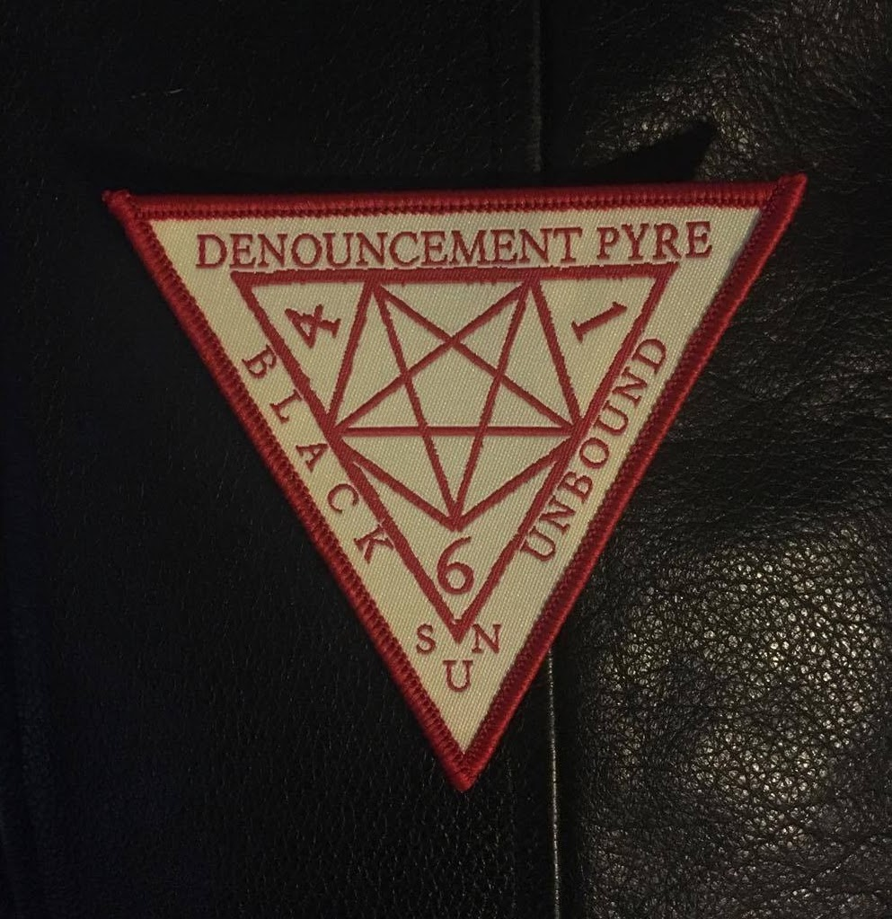 Denouncement Pyre Official Merch Store Patches