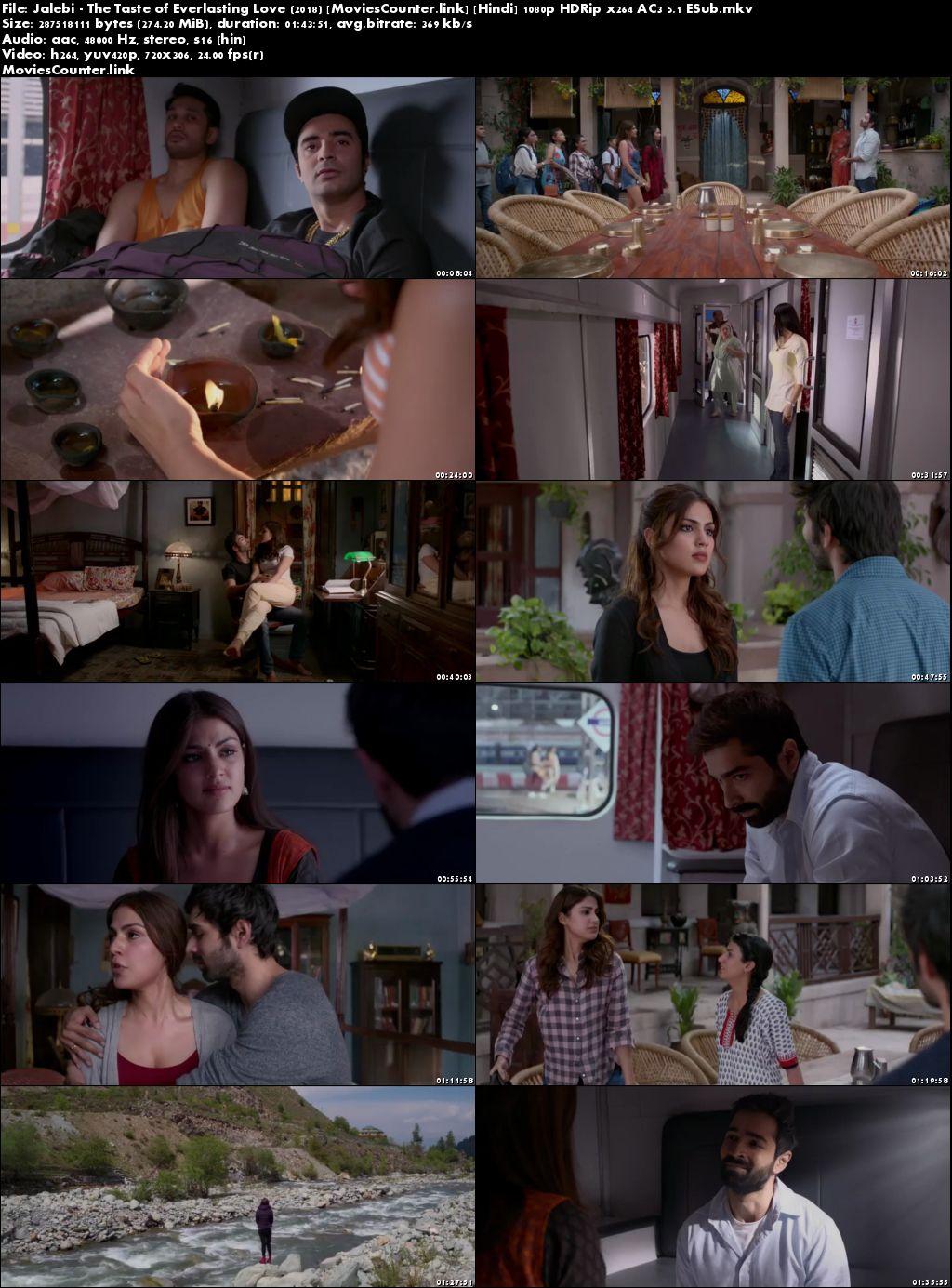 Screen Shots Jalebi 2018 Hindi HD 300mb