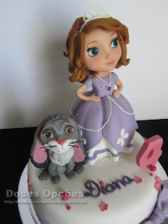 sofia princess disney cake
