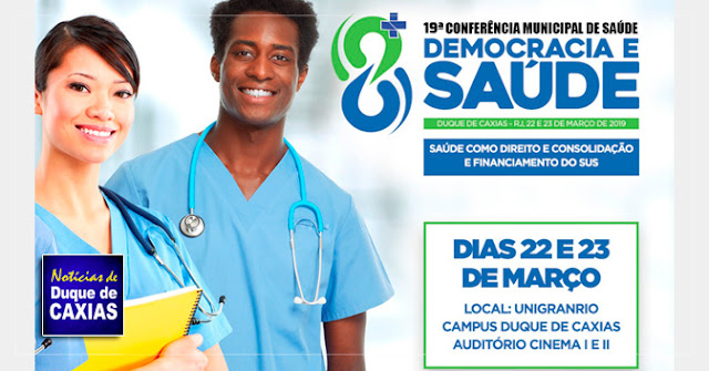 Duque de Caxias promove a 19ª conferência municipal de saúde