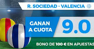 Paston Megacuota 9 Real Sociedad vs Valencia 24 septiembre