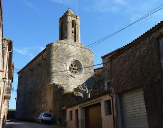 Iglesia de Púbol.