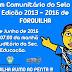 2° FÓRUM COMUNITÁRIO DE FORQUILHA