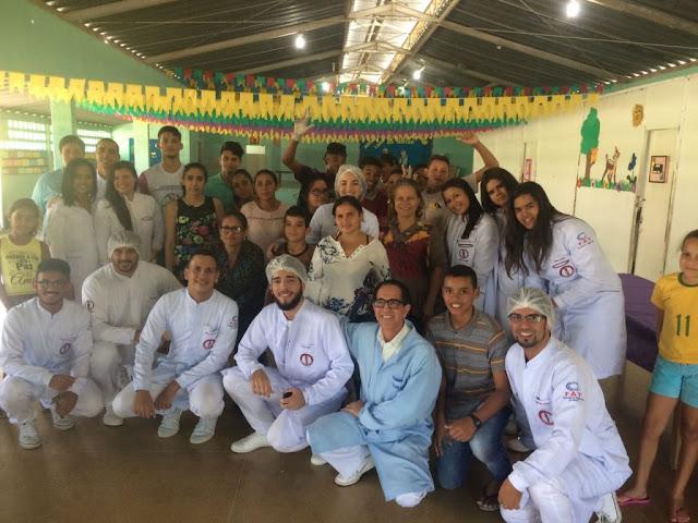 Em Piranhas, alunos de Odontologia realizam ações no SCFV e Escolas Municipais no município