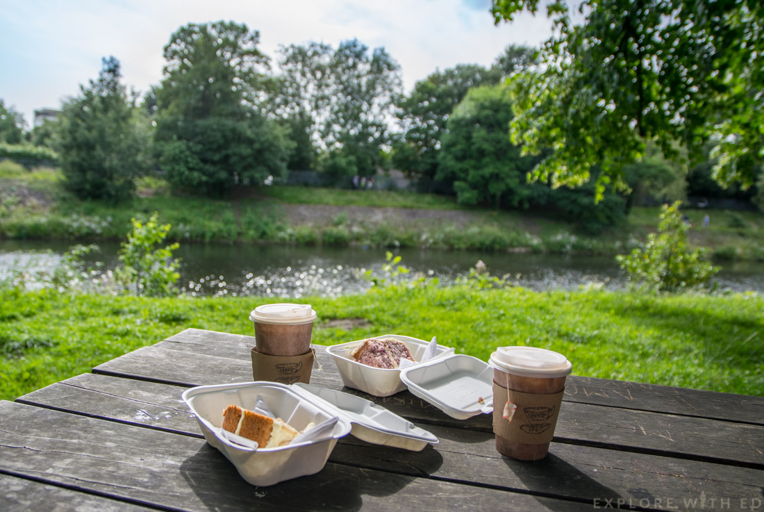 Bute Park, Pettigrew Tea Rooms, River Taff