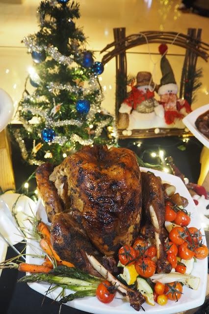 Peranakan-Roasted Turkey With Buah Keluak Sauce