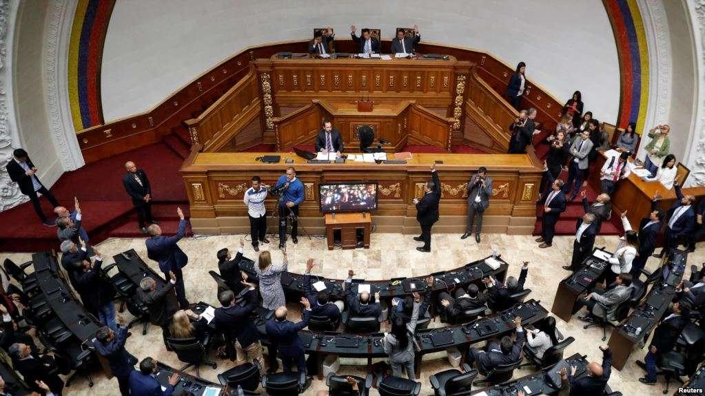 Sesión de la Asamblea Nacional del 15 de enero en Caracas / REUTERS