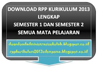 RPP Matematika Kelas 7 Kurikulum 2013 Semester 1 dan 2