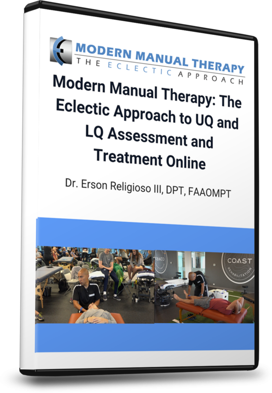 Save 50%! MMT: The Eclectic Approach to UQ and LQ Assessment and Treatment now fully online!
