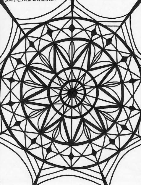 Printable Coloring Pages Kaleidoscope Free Image