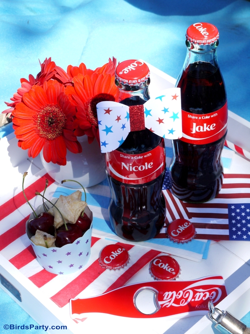 4th of July Garden Picnic Party Ideas