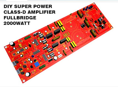 Power Amplifier class-d fullbridge D2K 2000 Watt