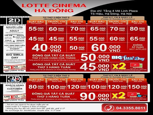 Lotte Hà Đông, lotte mê linh plaza, lotte tô hiệu