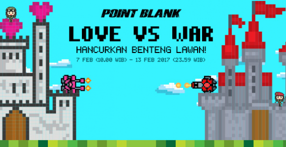 Event PB Garena Love vs War 2017 Spesial Valentine