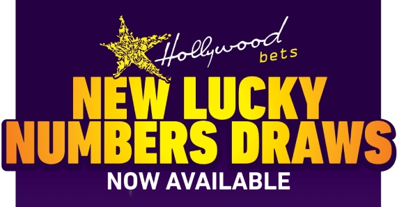 New Lucky Numbers Draws at Hollywoodbets - Now Available
