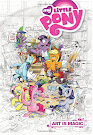 My Little Pony Art Book #1 Comic Cover A Variant