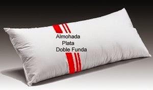 Almohada Silis Plata Doble Funda