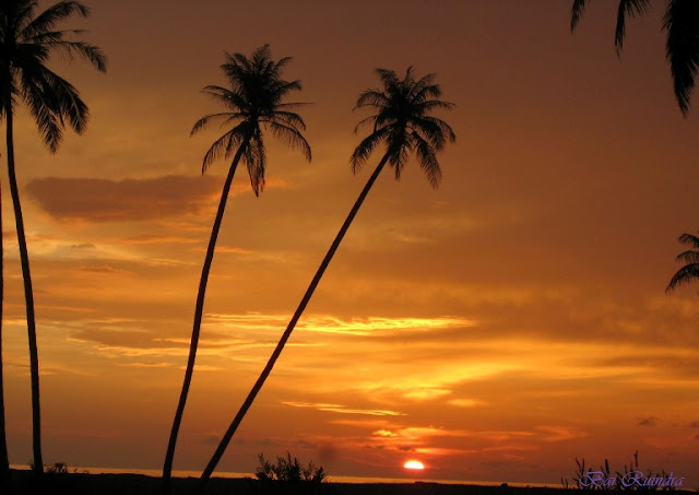 sunset di Aceh