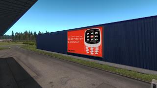 ets 2 real advertisements v1.3 screenshots, finland 2