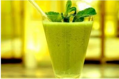 Kiwi Cucumber Juice Recipe