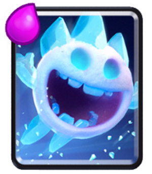 Ice Spirit: Common Card terbaru clash royale