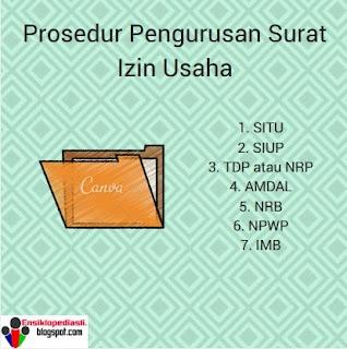 Prosedur Pengurusan Surat Izin Usaha (Lengkap)