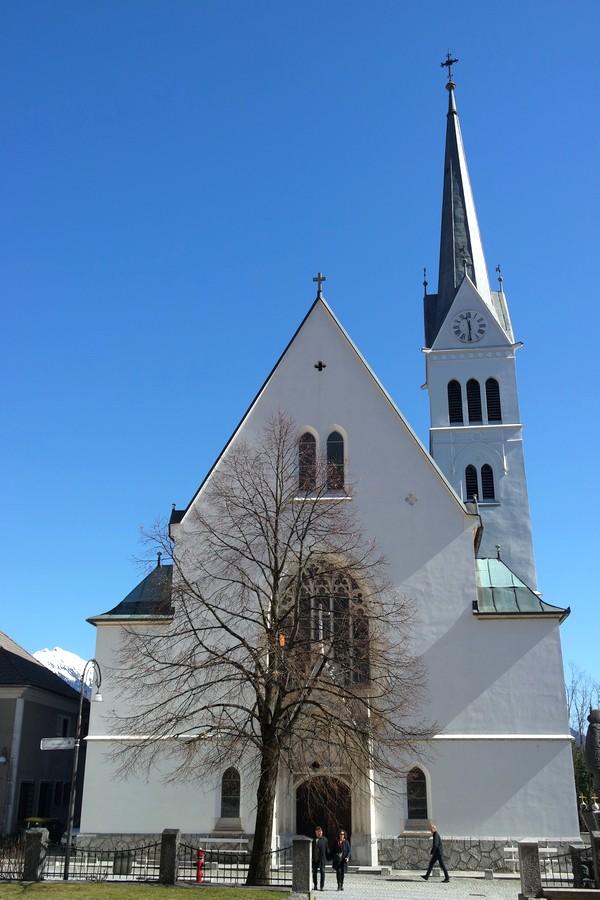 slovénie lac bled église saint martin