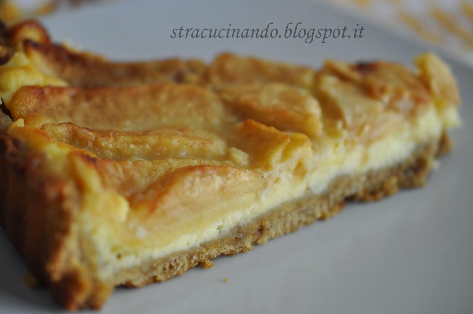 Angolo cottura crostata di mele con crema al mascarpone for Crostata di mele
