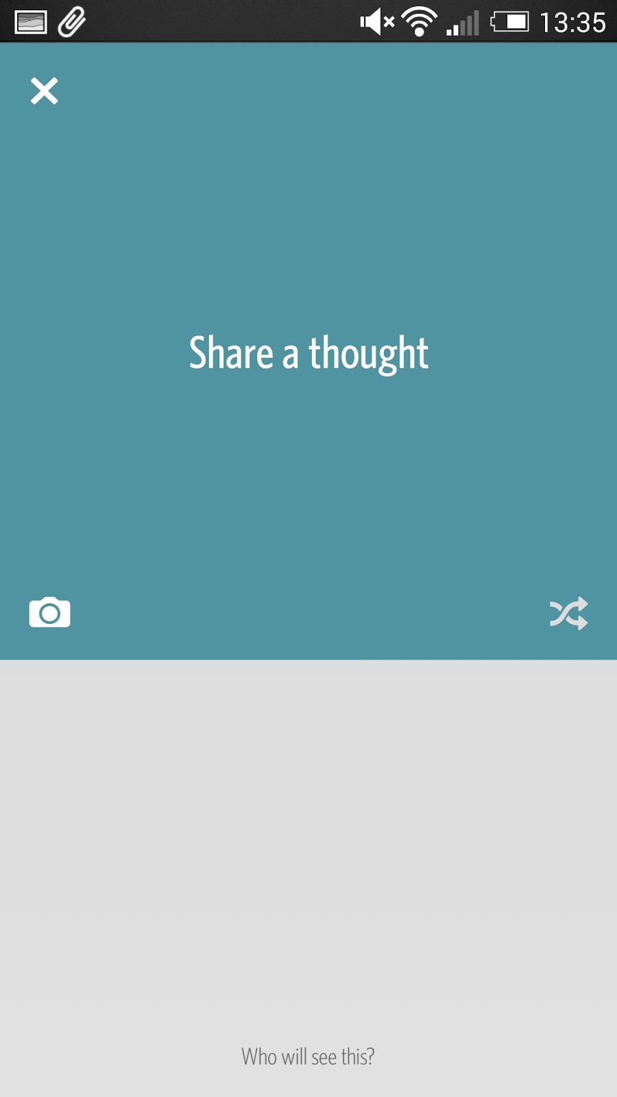 Secret 解除分享焦慮的社交 App ,對朋友匿名寫真心話 secret-09