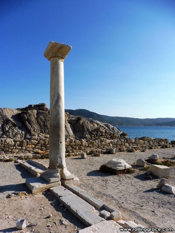 Ruins of the Basilicas Agios Stefanos, Kéfalos